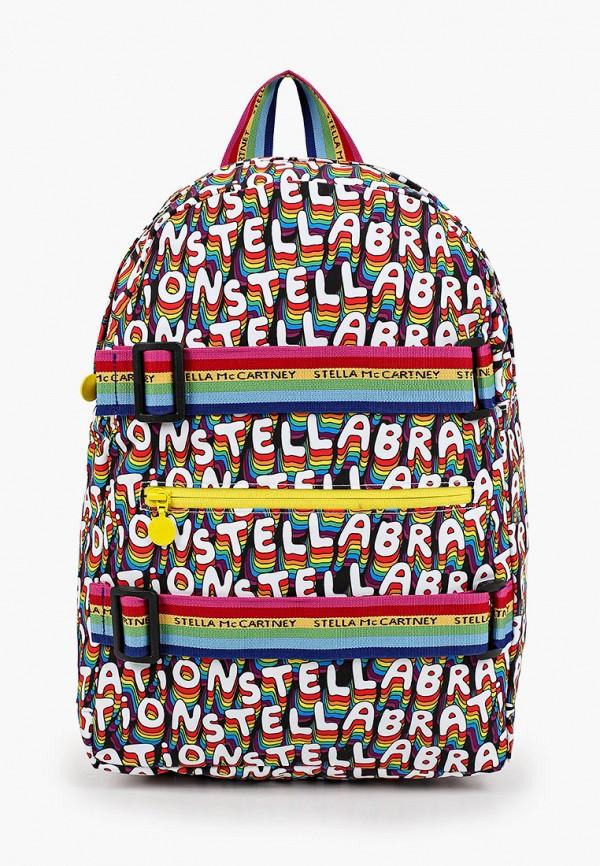рюкзак stella mccartney для девочки, разноцветный