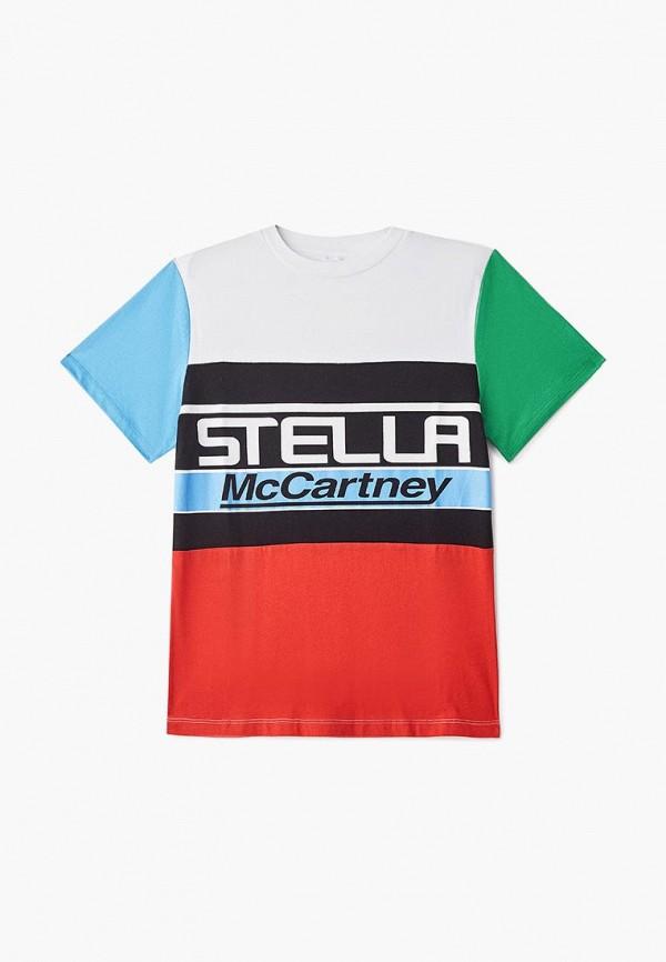 Футболка Stella McCartney Kids Stella McCartney Kids ST052EBECGA1 цена 2017