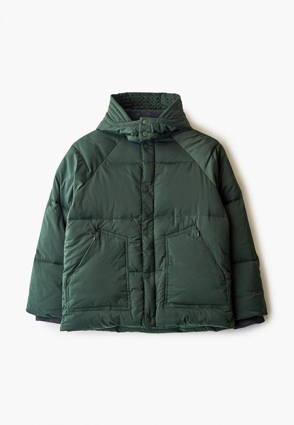 утепленные куртка stella mccartney для мальчика, хаки