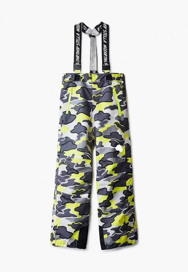 горнолыжные брюки stella mccartney для мальчика, черные