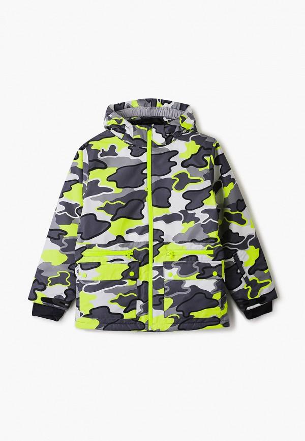 горнолыжные куртка stella mccartney для мальчика, разноцветная