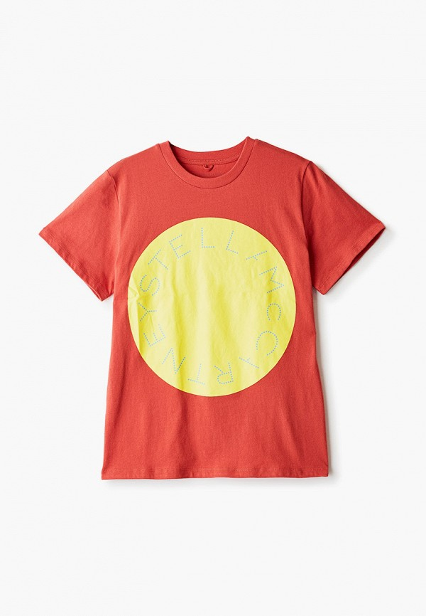 футболка с коротким рукавом stella mccartney для мальчика, черная
