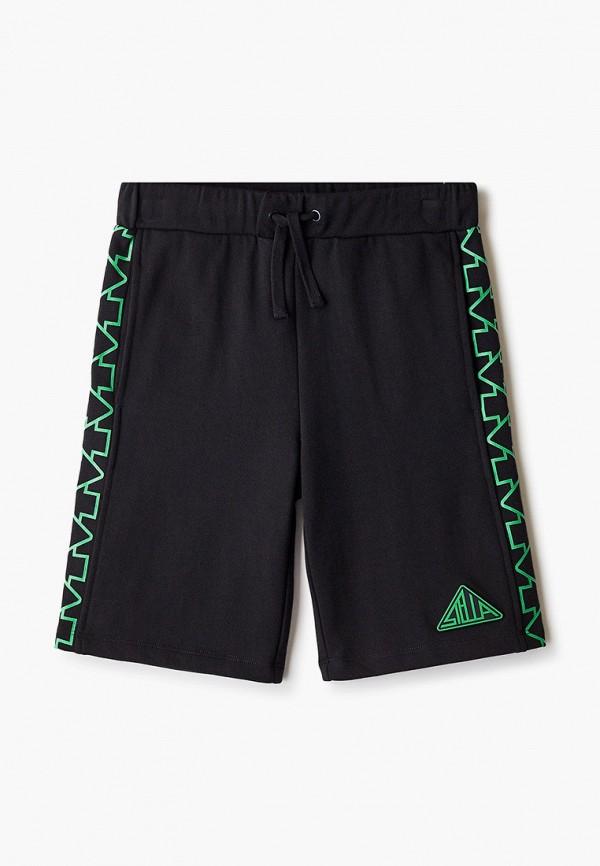 спортивные шорты stella mccartney для мальчика, черные