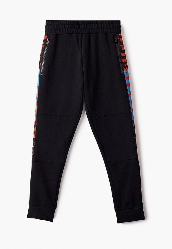 спортивные брюки stella mccartney для мальчика, черные