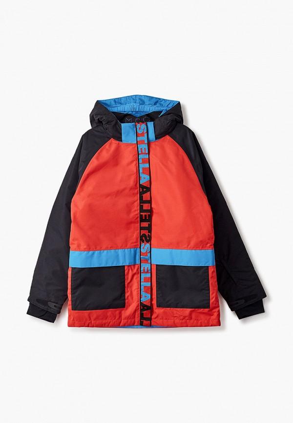 горнолыжные куртка stella mccartney для мальчика, черная