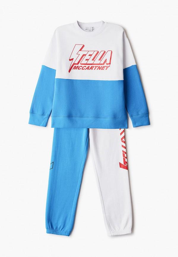спортивный костюм stella mccartney для мальчика, разноцветный