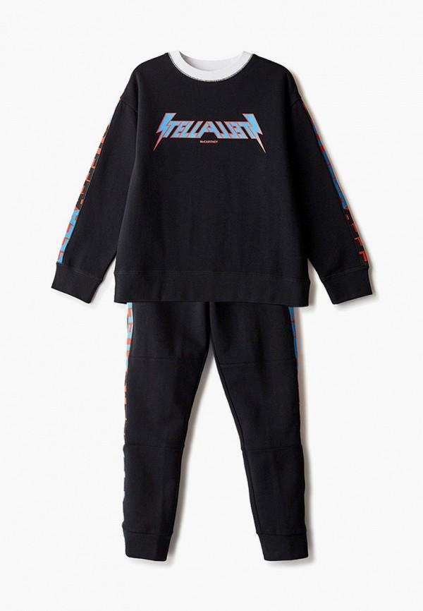 спортивный костюм stella mccartney для мальчика, черный