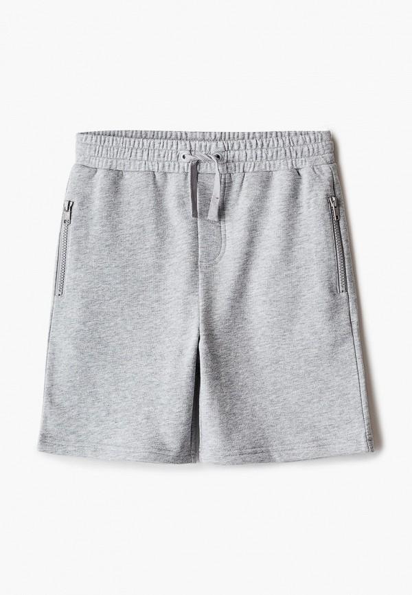 спортивные шорты stella mccartney для мальчика, серые