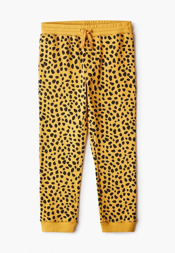 спортивные брюки stella mccartney для мальчика, желтые