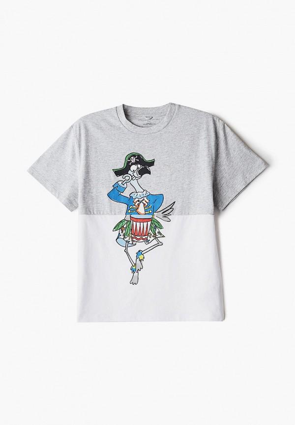 футболка с коротким рукавом stella mccartney для мальчика, разноцветная