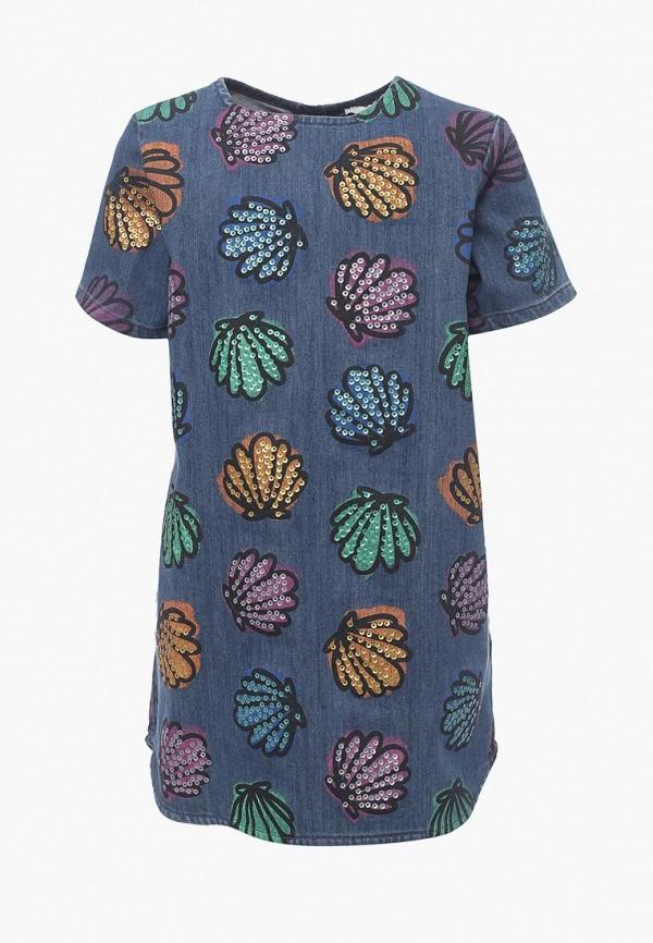 Купить Платье джинсовое Stella McCartney Kids, st052egavpq8, синий, Весна-лето 2018