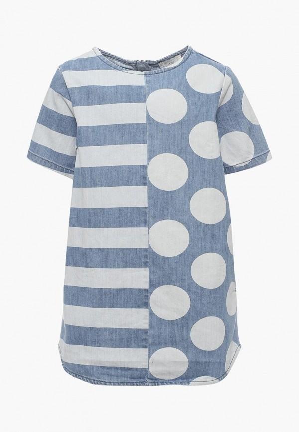 Платье джинсовое Stella McCartney Kids Stella McCartney Kids ST052EGAVPQ9 цена