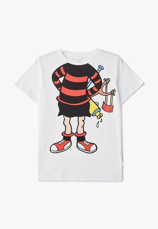 Футболка Stella McCartney Kids Stella McCartney Kids ST052EGCEOQ9 stella mccartney белая туника в полоску