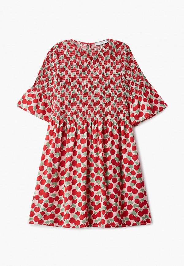 повседневные платье stella mccartney для девочки, красное