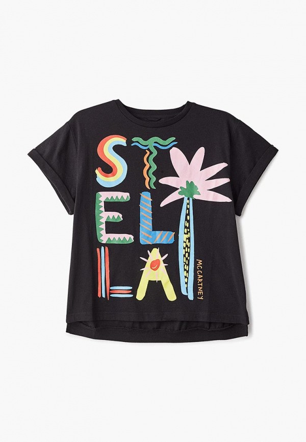 цена Футболка Stella McCartney Kids Stella McCartney Kids ST052EGECFP8 онлайн в 2017 году