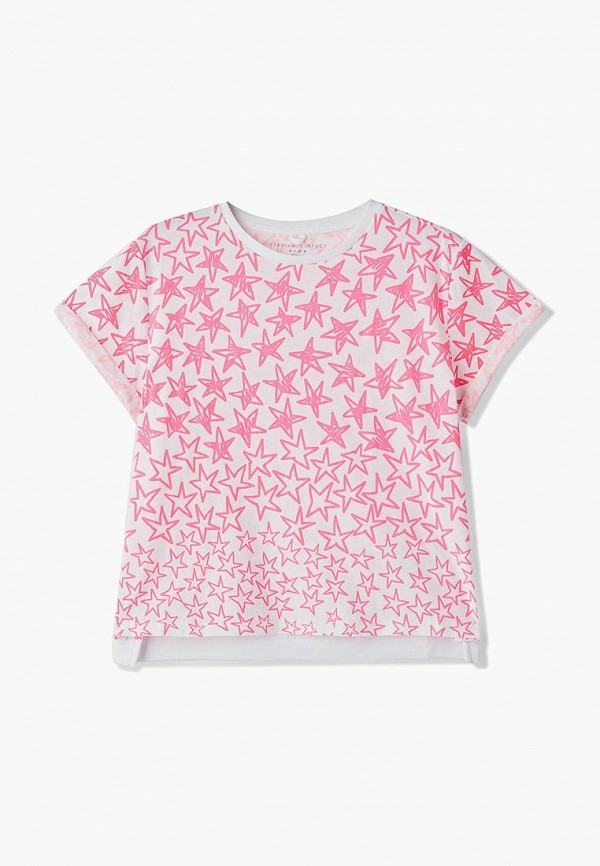 цена Футболка Stella McCartney Kids Stella McCartney Kids ST052EGECFQ1 онлайн в 2017 году