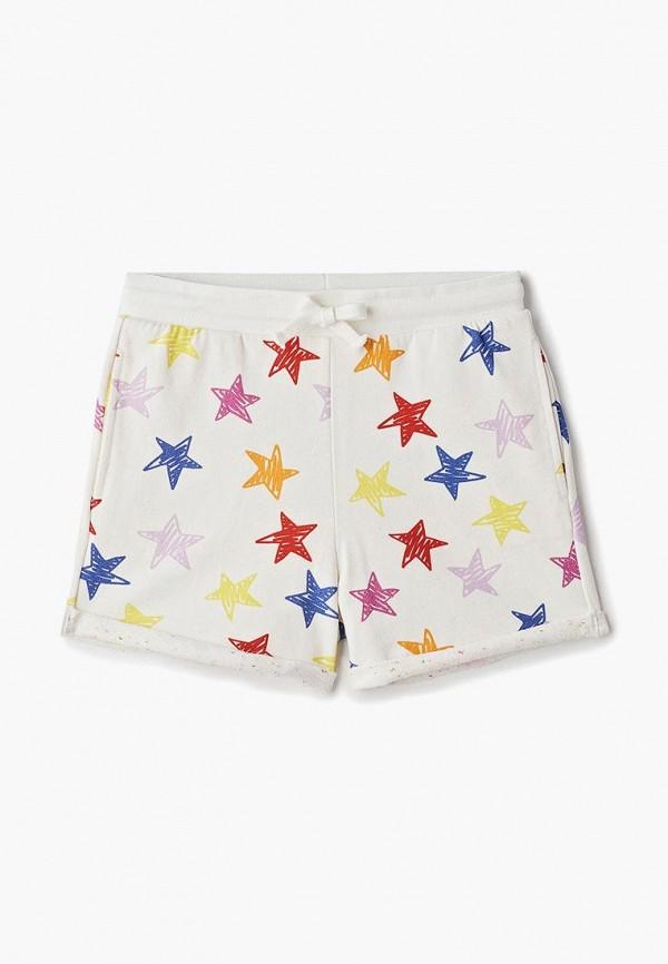 спортивные спортивные шорты stella mccartney для девочки, белые