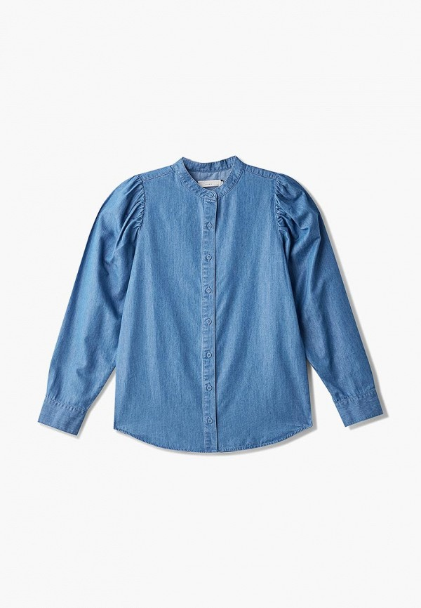 Рубашка джинсовая Stella McCartney Kids Stella McCartney Kids ST052EGECFZ0 цена и фото