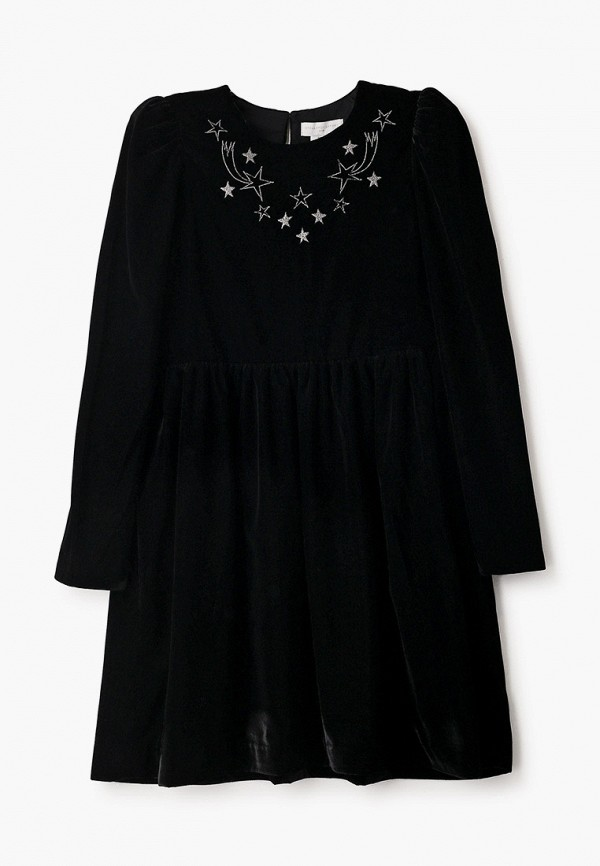 платье stella mccartney для девочки, черное