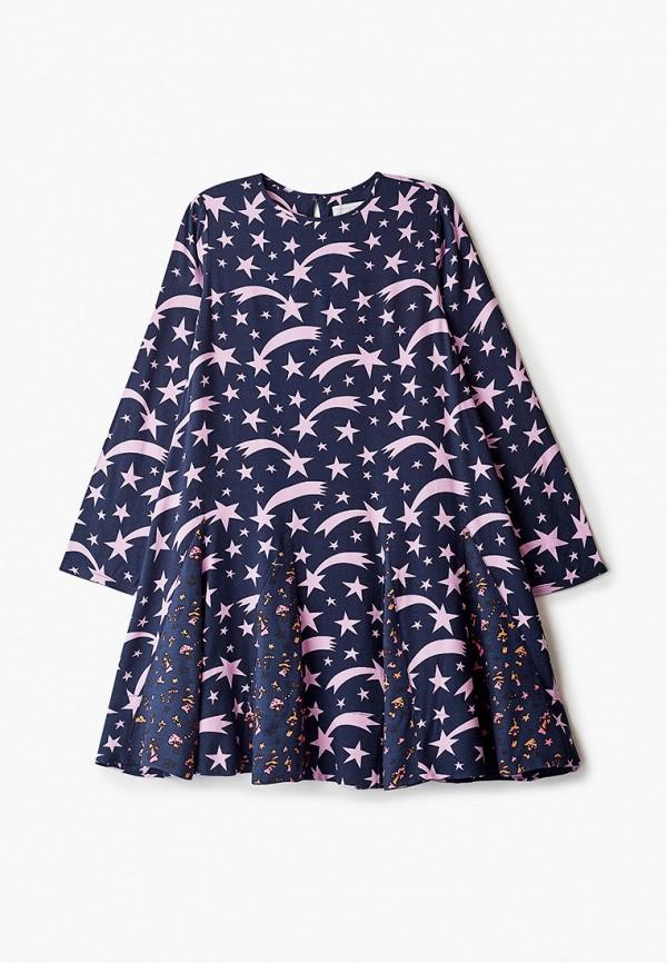 повседневные платье stella mccartney для девочки, синее
