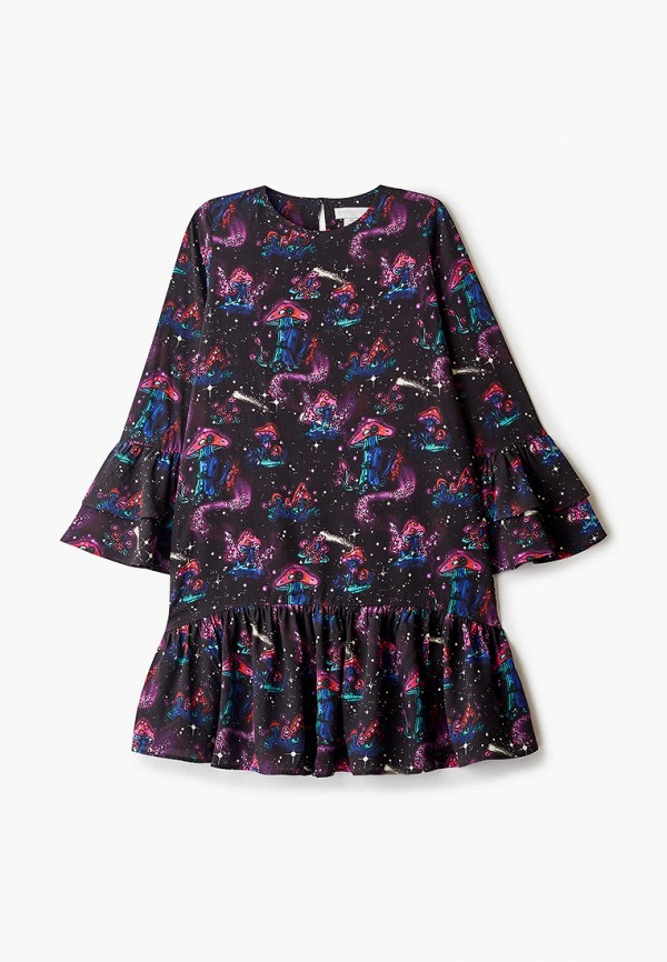 повседневные платье stella mccartney для девочки, фиолетовое