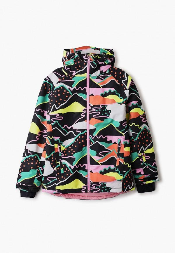 горнолыжные куртка stella mccartney для девочки, черная
