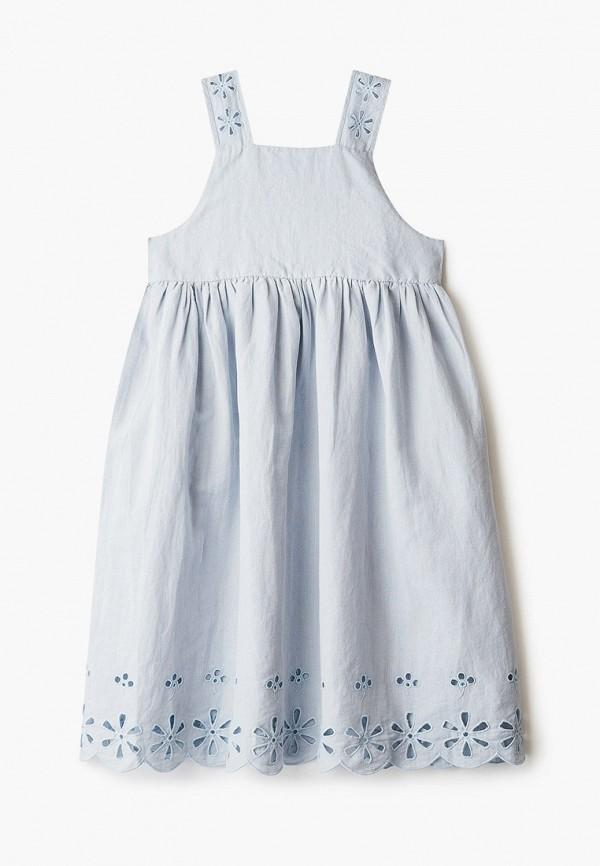 повседневные платье stella mccartney для девочки, голубое