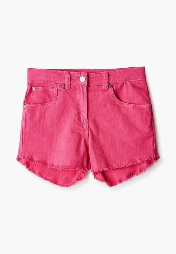 джинсовые шорты stella mccartney для девочки, розовые