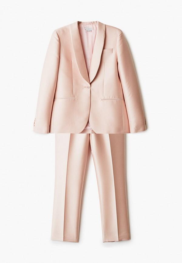 классические костюм stella mccartney для девочки, розовый