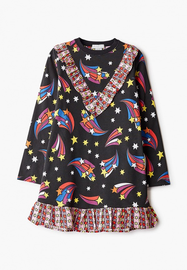 повседневные платье stella mccartney для девочки, черное