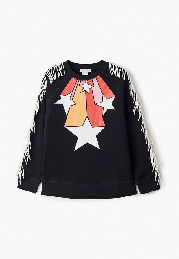 свитшот stella mccartney для девочки, черный