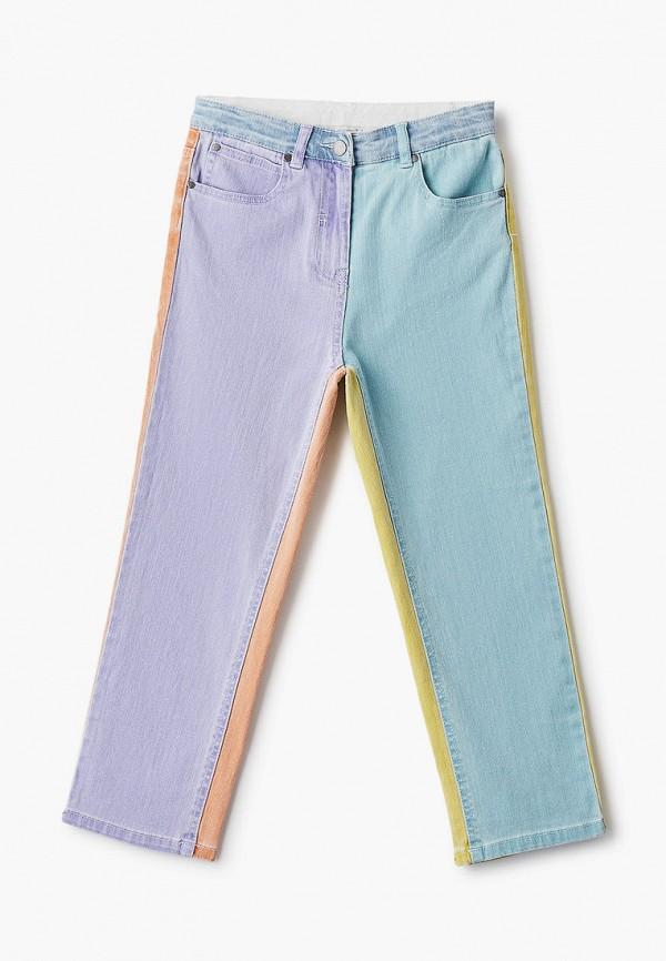 джинсы stella mccartney для девочки, разноцветные