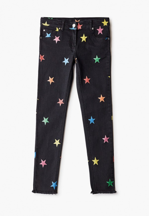 джинсы stella mccartney для девочки, черные
