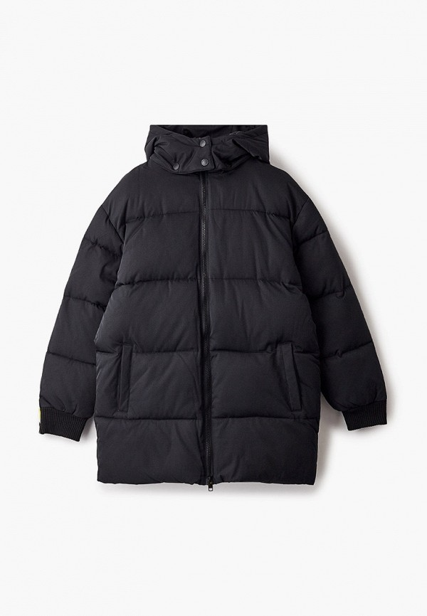 утепленные куртка stella mccartney для девочки, разноцветная