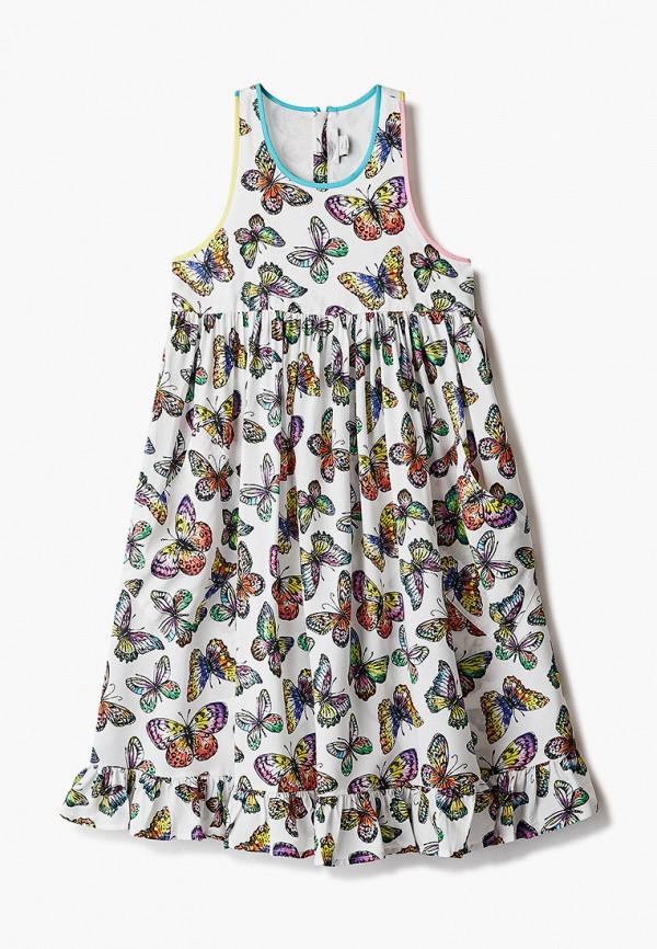повседневные платье stella mccartney для девочки, белое