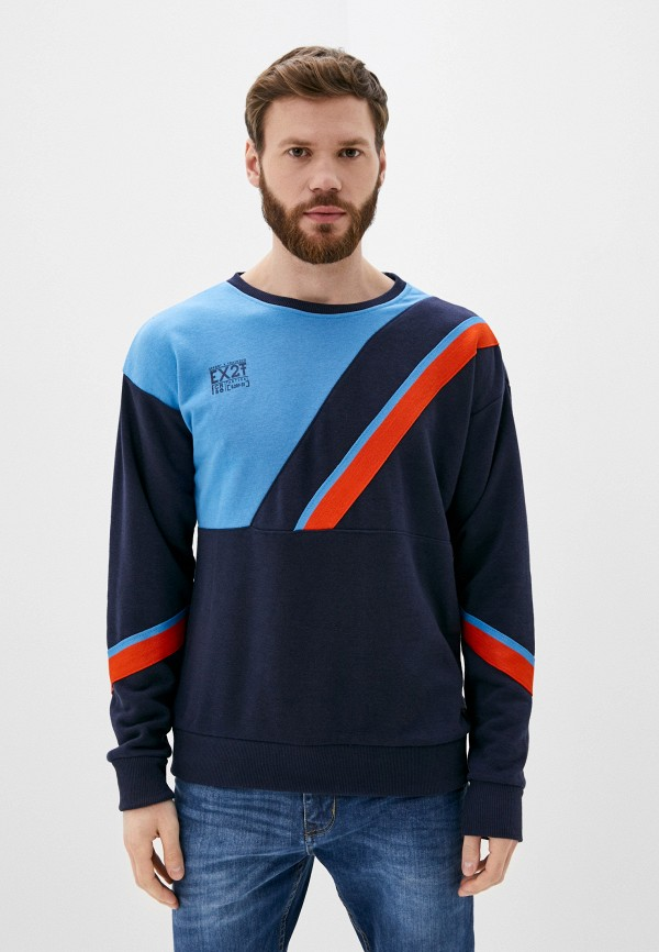 мужской свитшот stitch & soul, синий