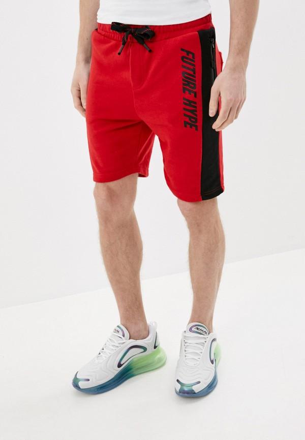 мужские повседневные шорты stitch & soul, красные