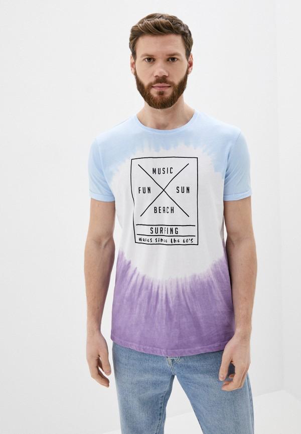 мужская футболка с коротким рукавом stitch & soul, разноцветная