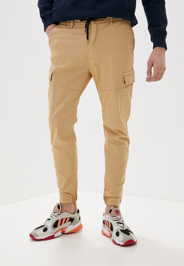 мужские брюки stitch & soul, бежевые