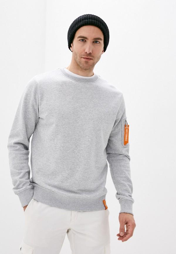 мужской свитшот stitch & soul, серый