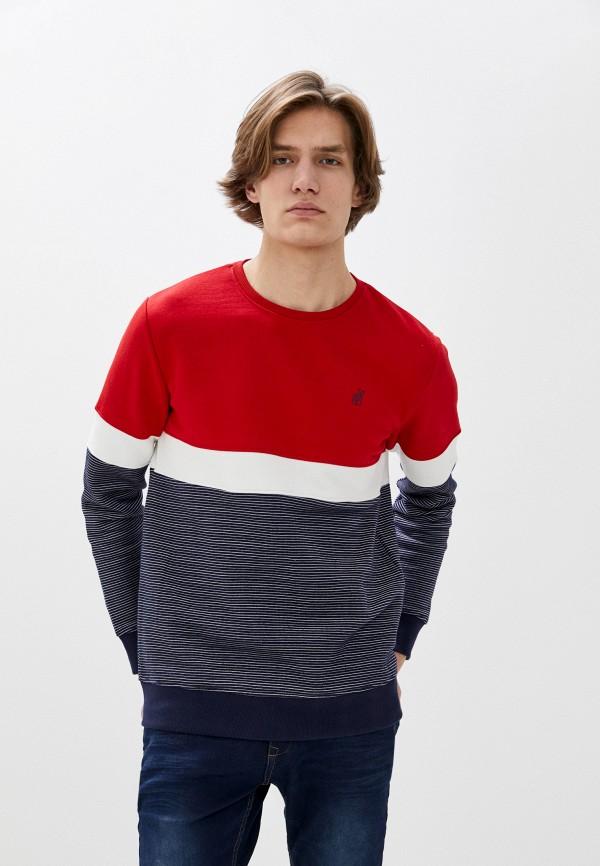 мужской свитшот stitch & soul, разноцветный
