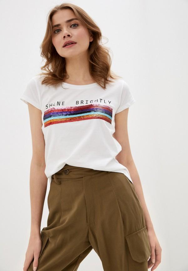 женская футболка stitch & soul, белая