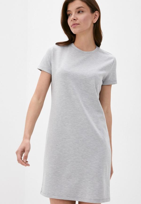 женское платье stitch & soul, серое