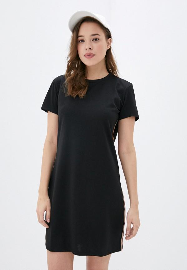 женское платье stitch & soul, черное
