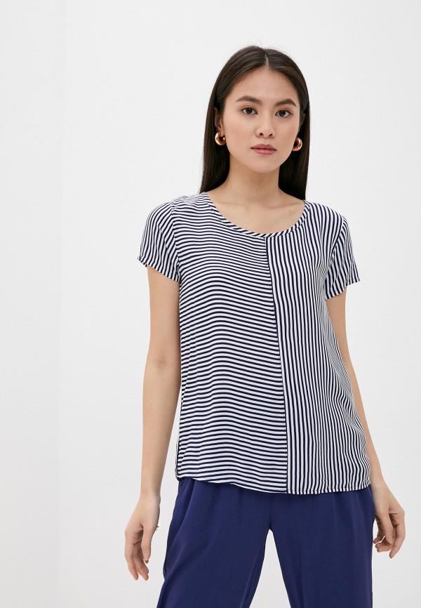 женская блузка stitch & soul, синяя