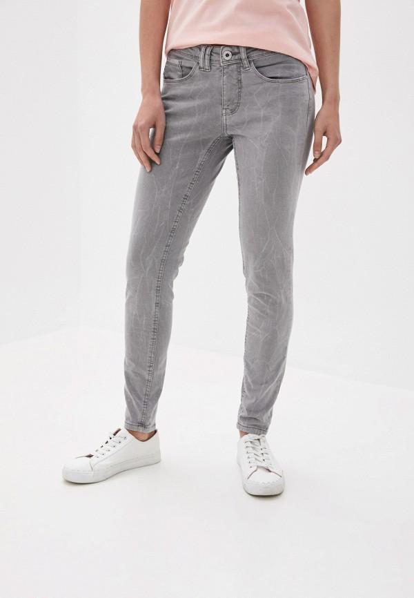 женские джинсы stitch & soul, серые
