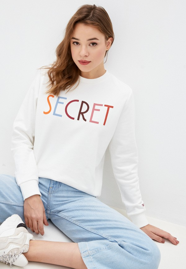 женский свитшот stitch & soul, белый