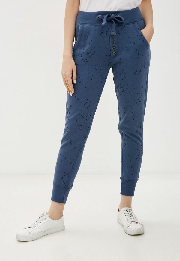 женские спортивные брюки stitch & soul, синие