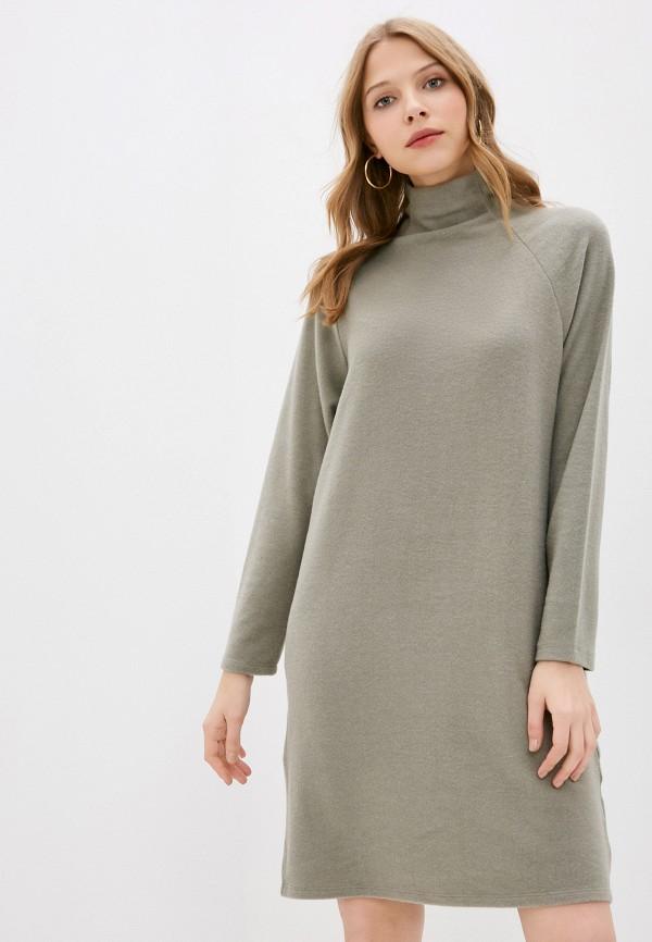 женское повседневные платье stitch & soul, зеленое