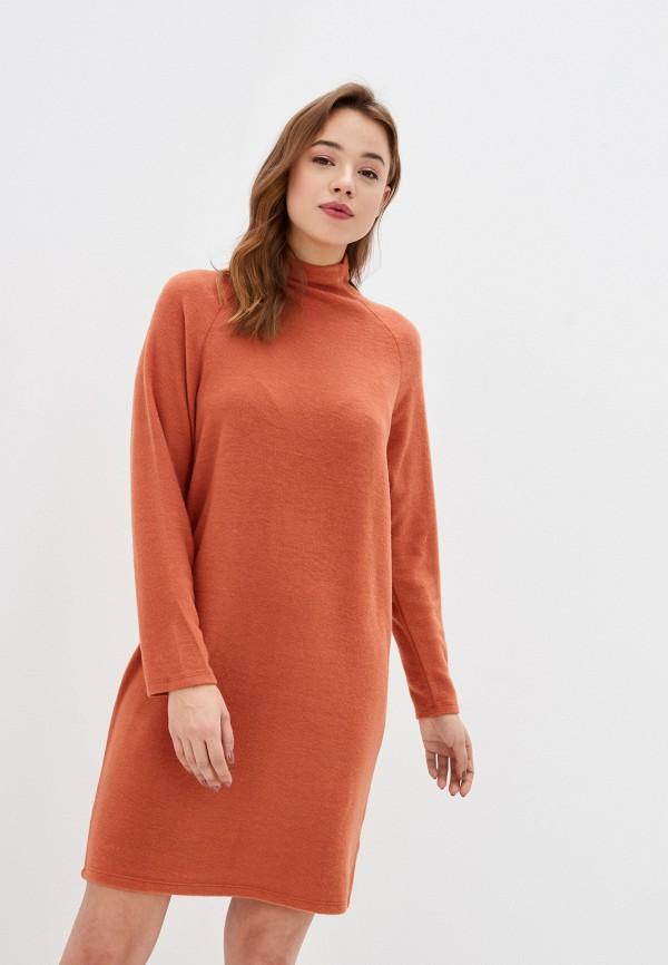 женское платье stitch & soul, оранжевое